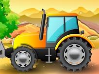 Parcheaza Tractorul de la Ferma