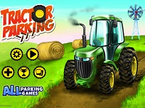 Parcheaza Tractorul la Ferma