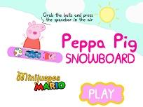 Peppa cu Snowboardul