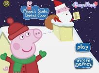 Peppa si Mos Craciun la Dentist
