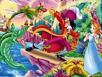 Peter Pan Puzzle de Alunecare