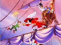 Peter Pan si Capitanul Hook