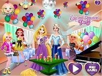 Petrecere cu Elsa si Rapunzel