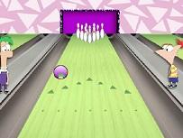 Phineas si Ferb la Bowling