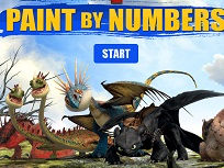 Picteaza Dragonii cu Numere