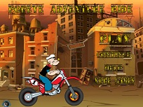 Popeye pe Motocicleta