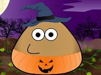 Pou si Costumul de Halloween