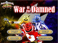 Power Ranger Razboiul Celor Blestemati