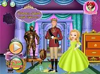 Printesa Amber Curatenie in  Castel