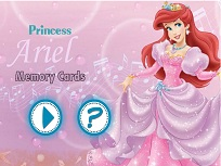 Printesa Ariel Joc de Memorie