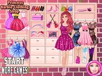 Printesa Barbie si Magazinul cu Haine