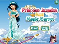 Printesa Jasmine si Covorul Fermecat