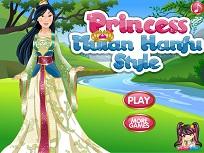 Printesa Mulan de Imbracat