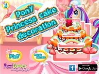 Printesa Ponei Decoreaza Tortul