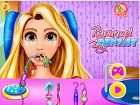 Printesa Rapunzel la Dentist