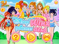 Printesele Disney in Stilul Winx