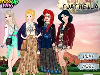 Printesele Disney Coachella