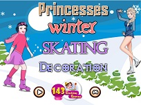 Printesele Disney Patineaza