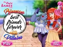 Printesele Disney Prietene cu Personaje Negative
