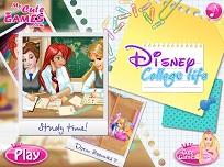 Printesele Disney Viata la Facultate