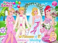 Printesele Disney la Nunta lui Barbie