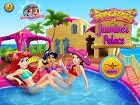 Printesele Disney la Palatul lui Jasmine