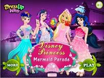 Printesele Disney si Parada Sirenelor