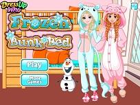 Printesele Frozen si Patul Supraetajat