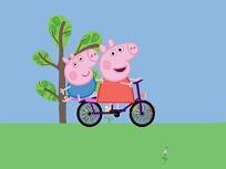 Peppa pe Bicicleta
