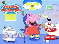 Purcelusa Peppa la Dentist