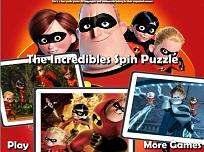 Puzzle Rotativ cu Incredibilii