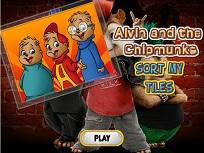 Puzzle cu Alvin si Veveritele 2