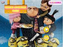Puzzle cu Aventura Minionilor