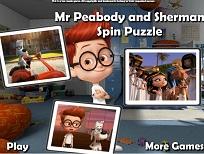 Puzzle cu Dl Peabody si Sherman