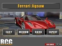 Puzzle cu Ferrari