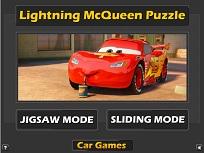 Puzzle cu Fulger McQueen