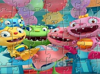 Puzzle cu Henry Hugglemonster