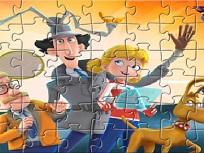 Puzzle cu Inspectorul Gadget