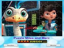 Puzzle cu Merc si Miles