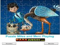 Puzzle cu Miles si Merc 2