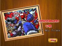 Puzzle cu Optimus Prime