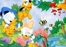 Puzzle cu Personaje Disney