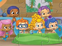 Puzzle cu Personaje Bubble Guppies