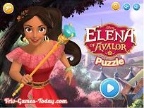 Puzzle cu Printesa Elena din Avalor