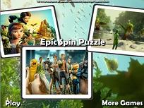 Puzzle cu Regatul Secret