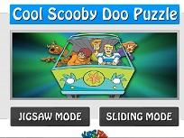 Puzzle cu Scooby Doo si Prietenii