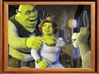Puzzle cu Shrek 2