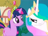 Puzzle cu Celestia si Twilight