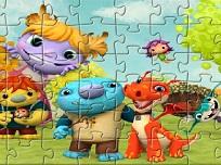Puzzle cu Wallykazam