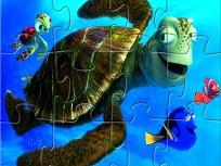 Puzzle cu  Personajele Nemo